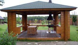 Строительство беседки для частного дома