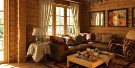 Деревянный дом — это уют и комфорт