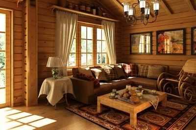 Деревянный дом - это уют и комфорт