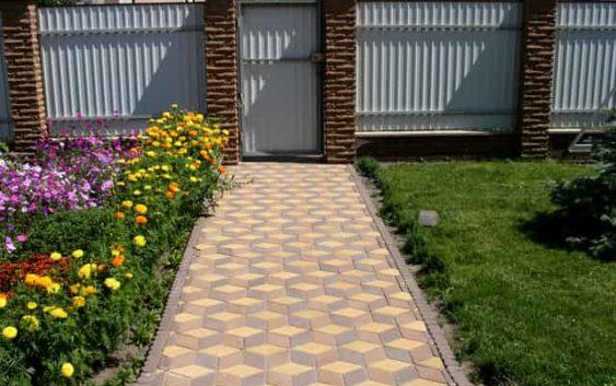 Как выбрать тротуарную плитку для двора?