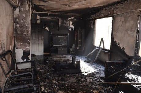 очистка помещений после пожара