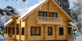 Строительство двухэтажного деревянного дома